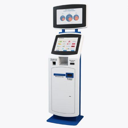 Платежный терминал К-72 - банковское устройство самообслуживания