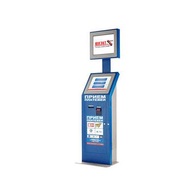 Платежный терминал «РЕКЛАМА 1.0.19» с дополнительным монитором