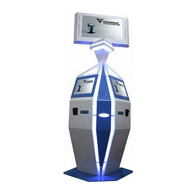 Платежный терминал «ДУЭТ» для мест с высокой нагрузкой
