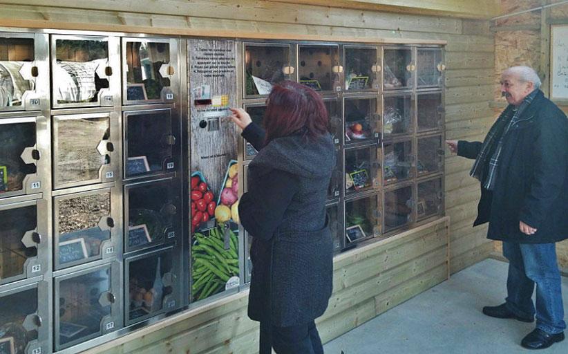 Терминалы самообслуживания помогают фермерам продавать сельхозпродукцию