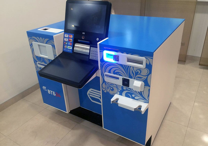 ВТБ 24 объявил о результатах тестирования автоматических касс