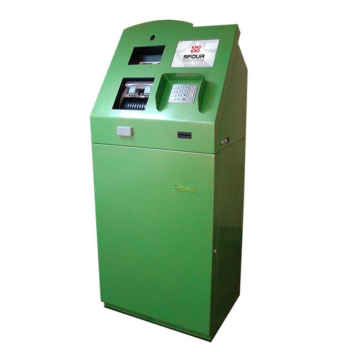 Депозитная машина SFOUR Stronghold со счётно-сортировочным модулем - устройство для самоинкассации.