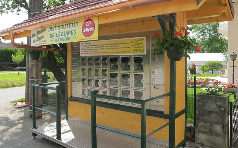 «Сады Лауры» - первая в Верхней Савойе ферма, автоматизировавшая прямые продажи сельхозпродукции