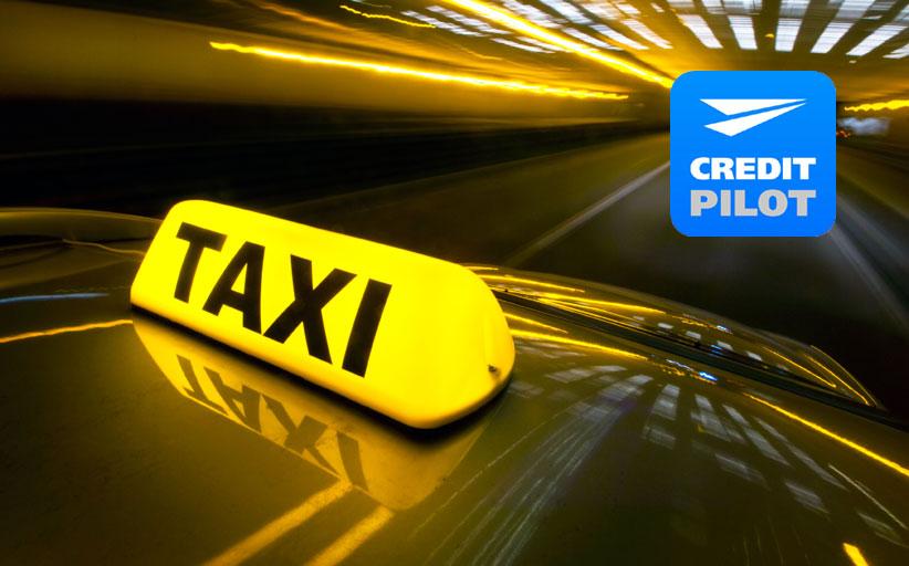 Оплата услуг такси в системе Кредит Пилот