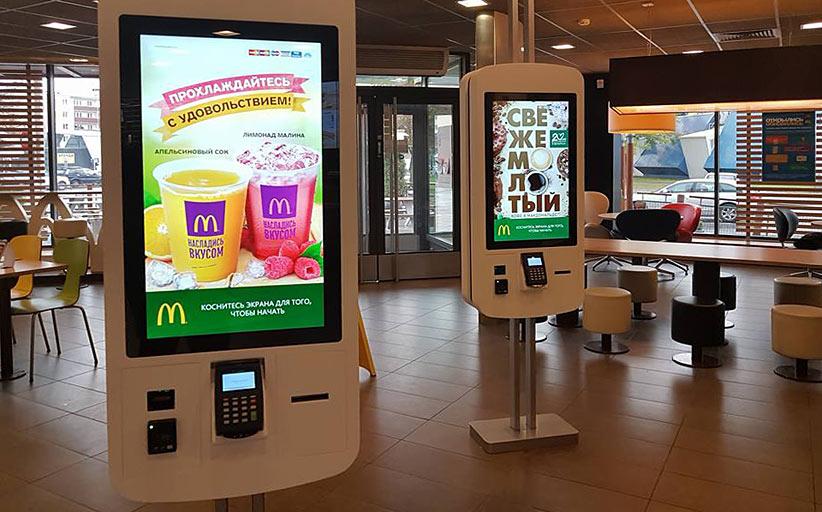 Белорусский фастфуд внедряет терминалы самообслуживания