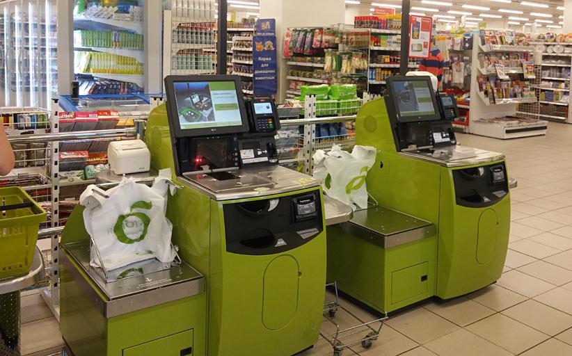 «Дикси» установит кассы самообслуживания еще в трёх магазинах