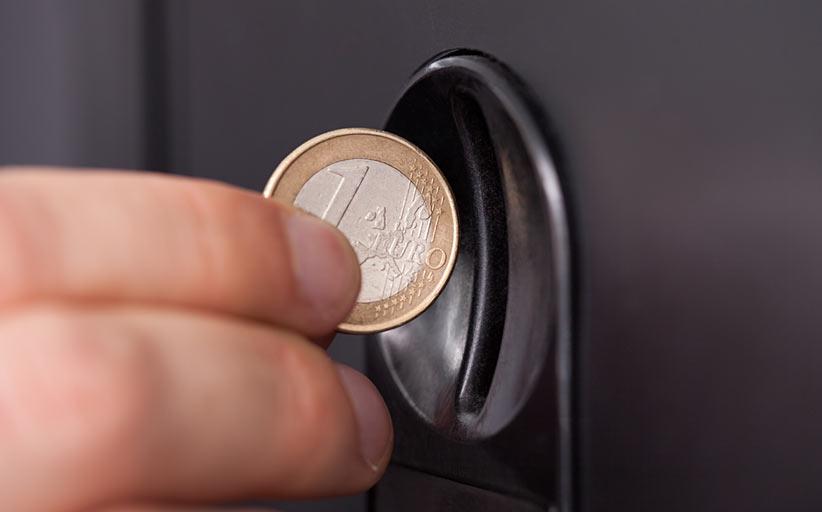 Монетоприёмник ICT UCA2 для монет евро