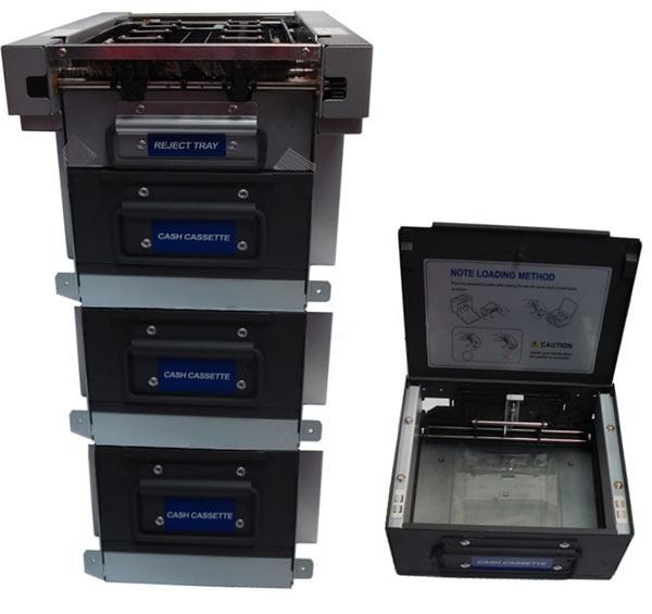 Диспенсеры Puloon для терминалов обмена валюты, автоматов выдачи займов, аппаратов покупки / продажи криптовалют