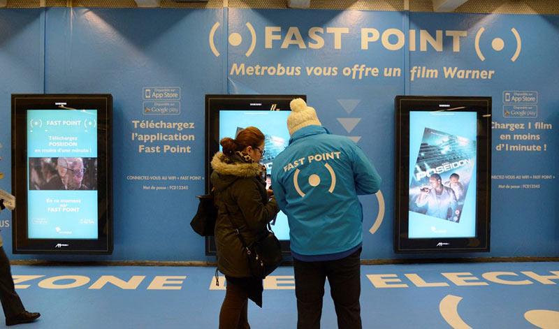рекламное агентство MediaTransports внедрило на общественном транспорте систему бесконтактного обмена данными между терминалами и мобильными устройствами пассажиров