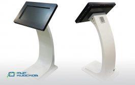 Новый сенсорный киоск Sirius - креативный дизайн и новейшая архитектура Intel