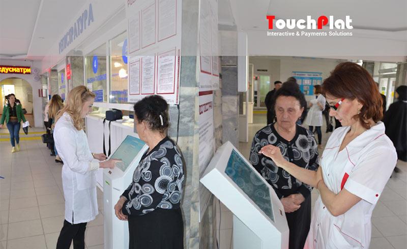 Терминалы самообслуживания TouchPlat установлены во всех поликлиниках Осетии