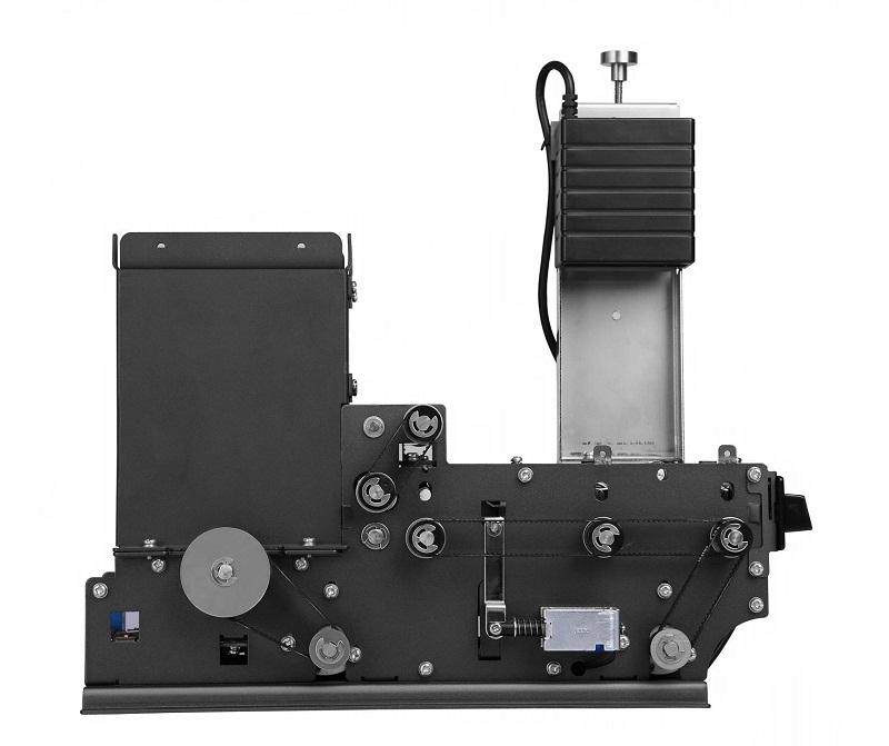 диспенсер карт со сканером штрих-кода для автоматической персонализации карт