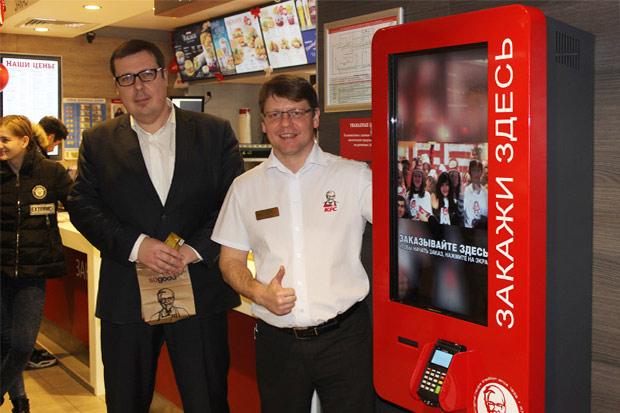 Киоски самостоятельного заказа в белорусских ресторанах KFC