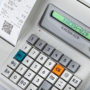 Прочная клавиатура онлайн-кассы «КАСБИ-02Ф»
