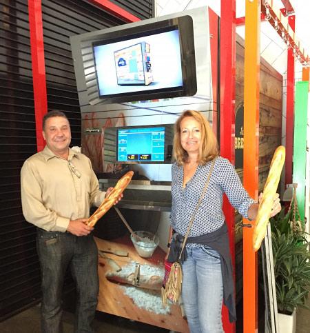 первый автомат в коктейль-баре The Myriad в Сан-Франциско