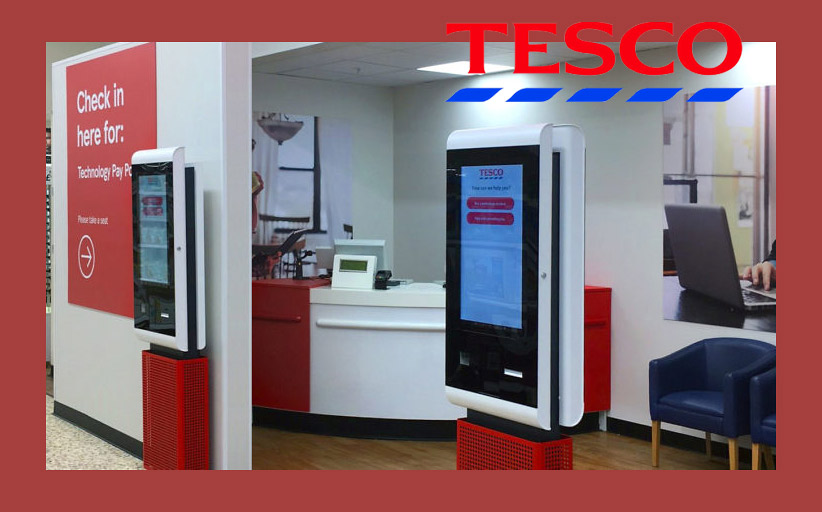 Tesco потратит 1,2 млн фунтов на цифровые киоски для супермаркетов Tesco Extra