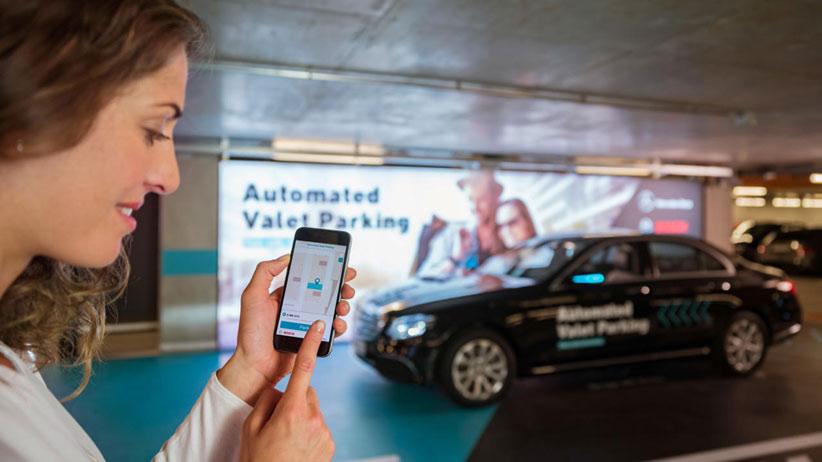 Автоматизированный паркинг для автономных машин