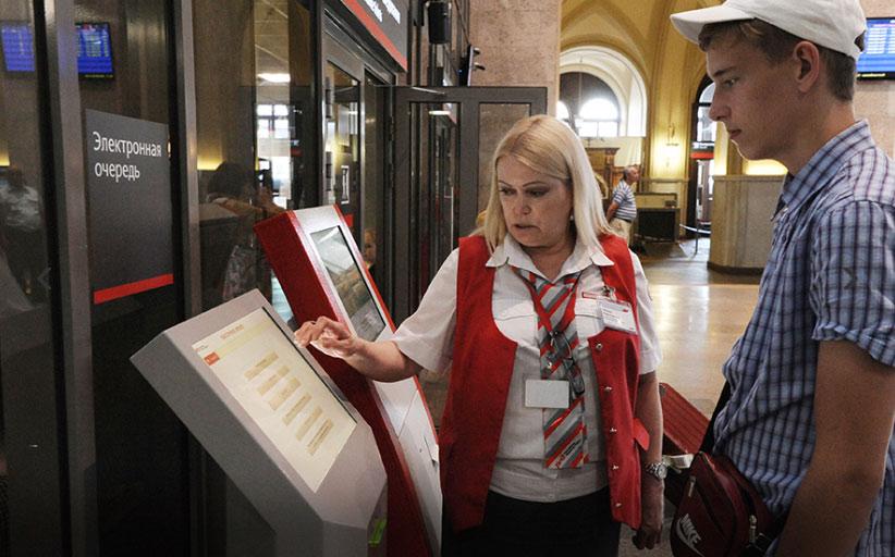 Системы электронной очереди внедряют на столичных вокзалах