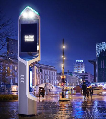 Интерактивные навигационные терминалы Citybeacon в Голландии