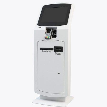 Терминал самообслуживания для оплаты картами