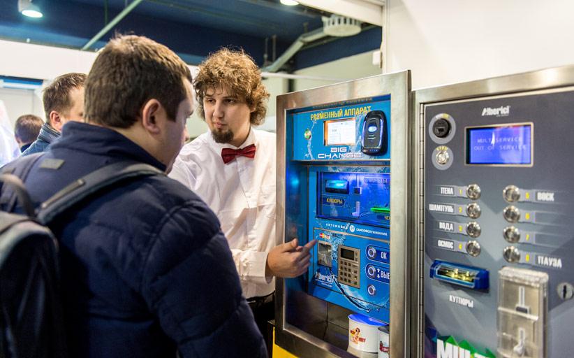 Выставки VendExpo и WRS5 - достижения индустрии автоматизированной торговли и систем самообслуживания