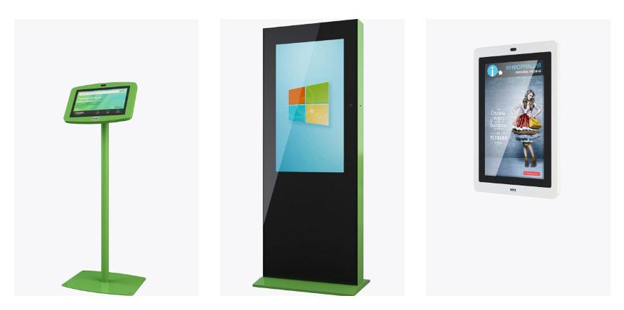 рекламные терминалы TouchPlat с функцией распознавания лиц
