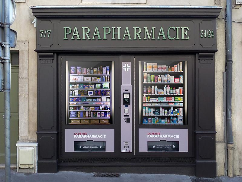 Автономная аптека в Нормандии