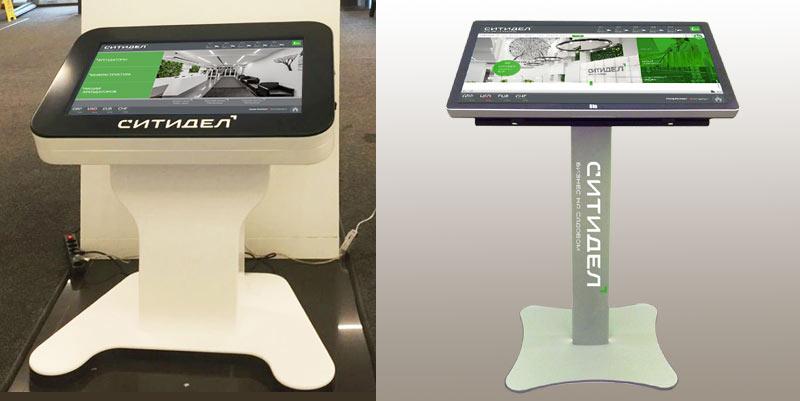 Сенсорные киоски для интерактивной навигации в БЦ Ситидел