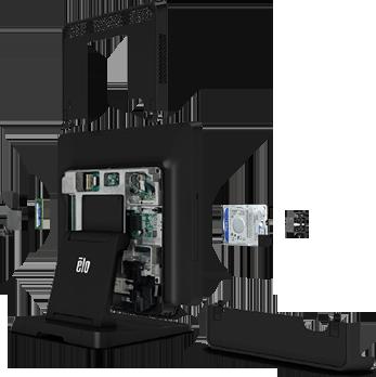 """Блочная конструкция моноблока с сенсорным экраном Elo 15"""", 17"""", 20"""""""