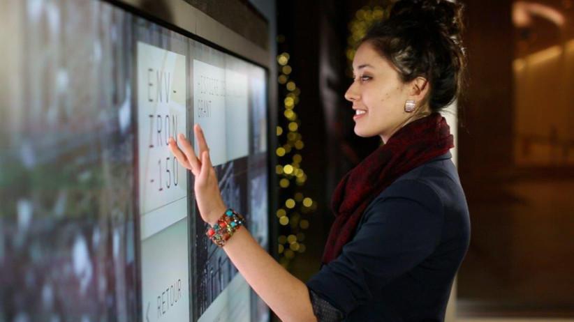 Проекционно-емкостные сенсорные экраны PCAP для  улицы