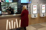 TouchPlat поставила терминалы самообслуживания в рестораны Хесбургер