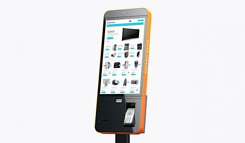 Киоски самообслуживания TouchPlat в салонах «Ситилинк»