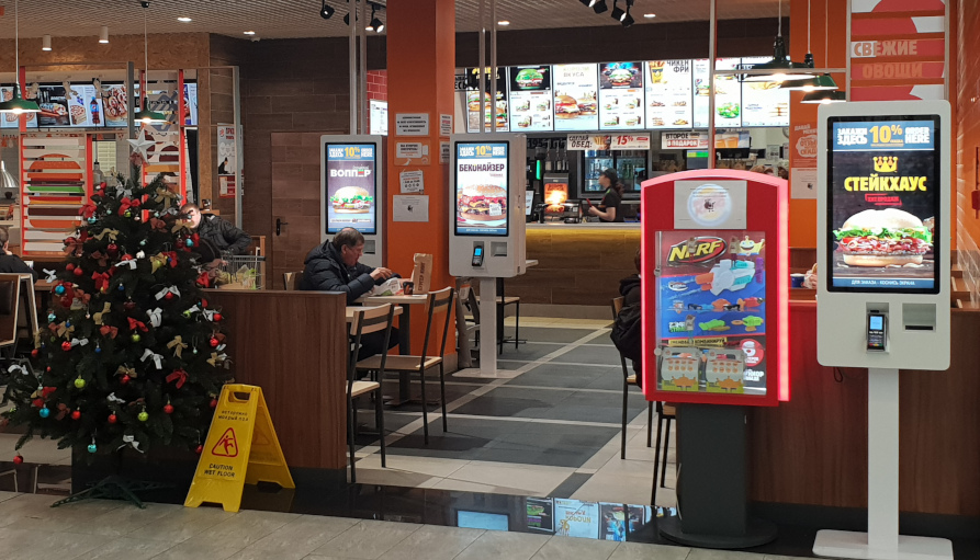 Двойные терминалы оплаты повышают пропускную способность ресторана