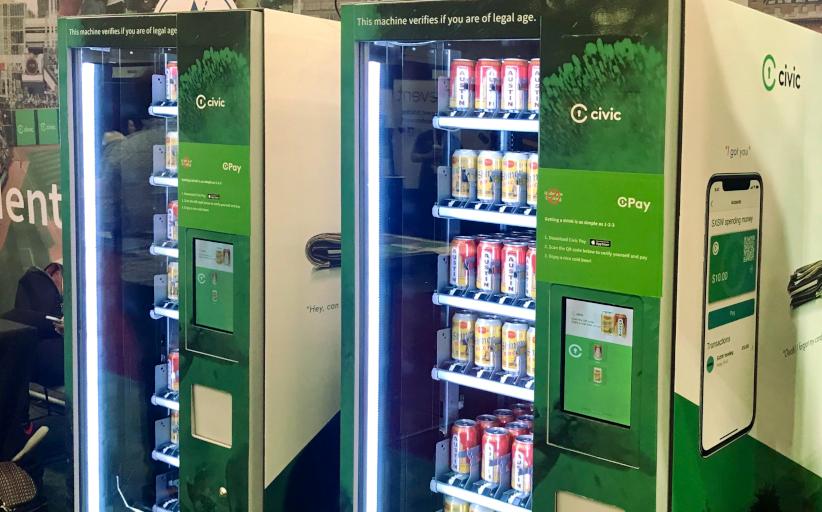 Торговые автоматы с блокчейн-идентификацией для продажи пива