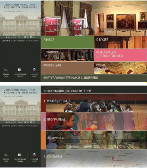 Сенсорные киоски «Титаниум» в Музее современной истории России