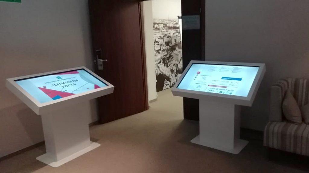 touch-столы Prototype D от BM GROUP на конкурсе Территории роста 2019