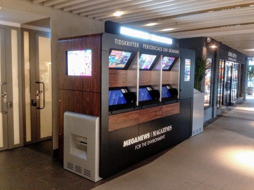 автоматы для печати прессы «on demand»