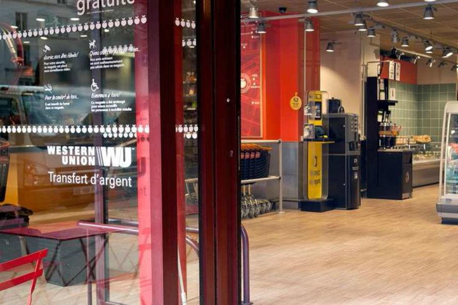 Western Union размещает киоски самообслуживания в магазинах Franprix