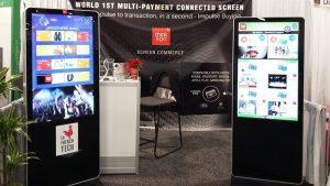 Интерактивные киоски для бесконтактных платежей прямо с экрана