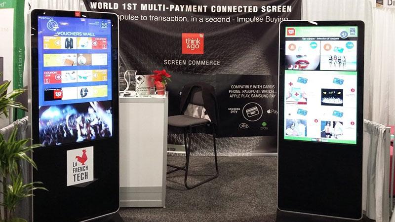 Интерактивные киоски позволяют совершать бесконтактные мульти-платежи прямо с экрана