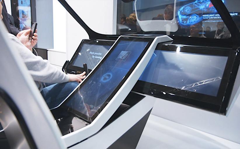 Интерактивный киоск в холодильнике и сенсорный терминал для пассажирского дрона - на Consumer Electronics Show 2016