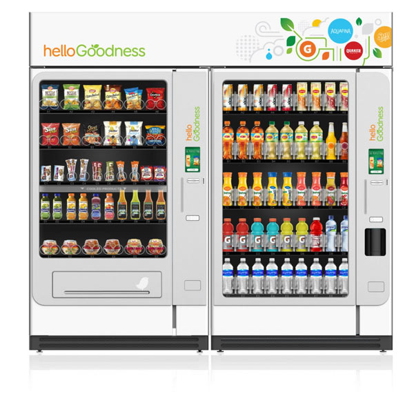 Вендинговые автоматы под брендом Hello Goodness