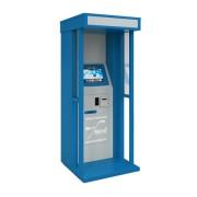Уличный автомат приёма платежей FastPay Street с кабиной