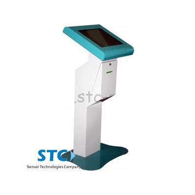 Киоск электронной очереди «Стойка» - сенсорный терминал для выдачи талонов