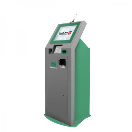 Банковский терминал самообслуживания K-03 с приёмом банкнот пачкой