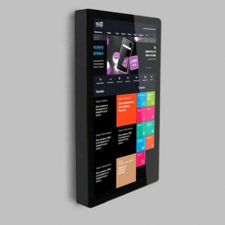 Сенсорные информационные киоски Elo-Line 2794 для приложений Digital Signage, интерактивной рекламы и информационных систем