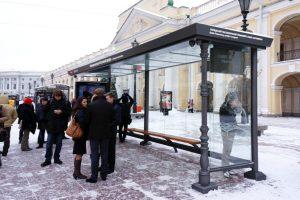 «Умные остановки» с терминалами самообслуживания и Wi-Fi в Петербурге