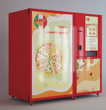 Разработан первый российский вендинговый автомат для выпечки и продажи пиццы