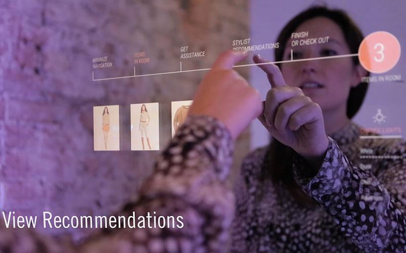 Магазины Gerry Weber заменили обычные примерочные на интерактивные