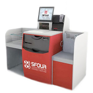 Касса самообслуживания «SFOUR Self-Checkout»